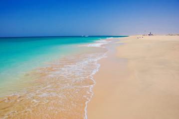 Beach at Santa Maria - Sal Island - Cape Verde
