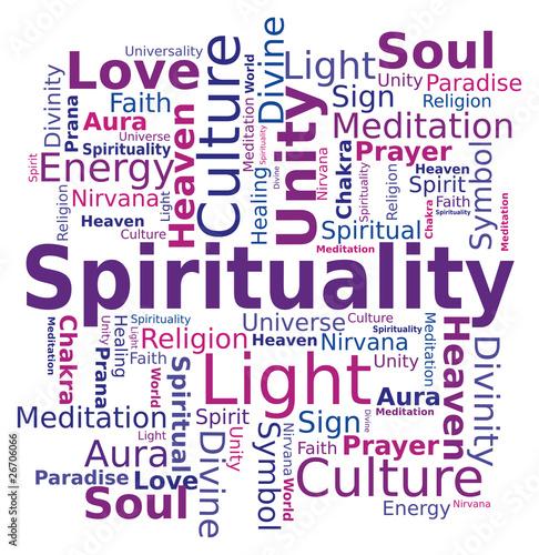 Nuage de mots - Spiritualité