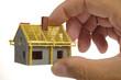 Hausbau Bau Haus Hand