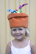 Girl with funny hat