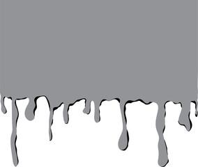 Farbtropfen grau