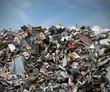 Leinwanddruck Bild - Müll