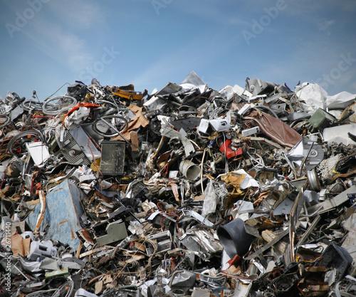 Leinwanddruck Bild Müll