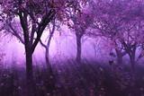 Fototapety Lavender Forest - 3d render