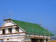 Rohbau mit Dachstuhl