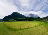 Farm field in Tirol
