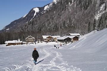 Winterwanderung durch die Allgäuer Alpenwelt