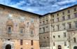 Historic palaces. Perugia. Umbria.