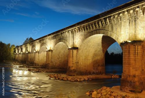 Papiers peints Pont Le pont-canal d'Agen