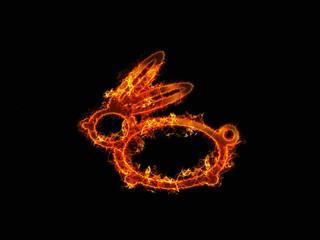 огненный заяц
