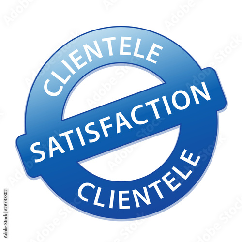 Tampon satisfaction clientele satisfait service clients for Domon service a la clientele