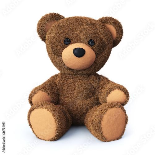 Leinwandbild Motiv Teddy bear