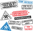 Security rubber stamps