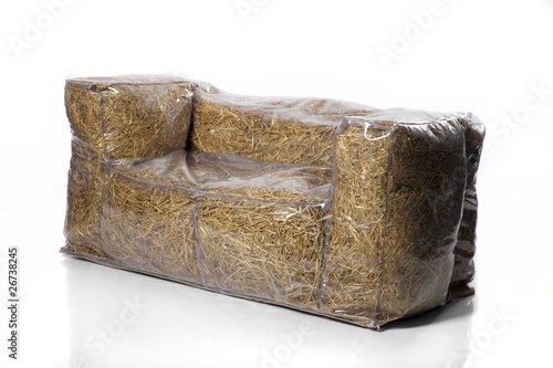 Hay furniture. Simple two seat sofa