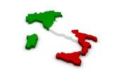 3D-s olasz zászló