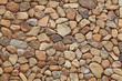 Постер, плакат: Stone Brick Wall made of fragment stones in irregular shapes
