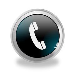 Bottone 3D Telefono