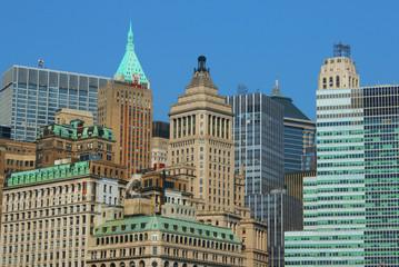 Financial district Manhattan, New York