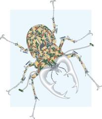 beetle steel camouflage