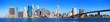 Fototapeten,new york city,manhattan,panorama,brooklyn bridge