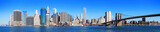 Fototapety New York City Manhattan skyline panorama