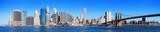 Fototapety New York City Manhattan skyline panorama