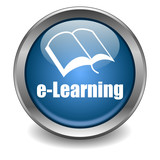 E-Learning Button poster