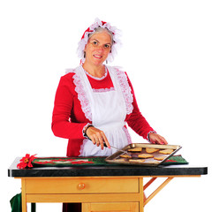 Baking for Santa