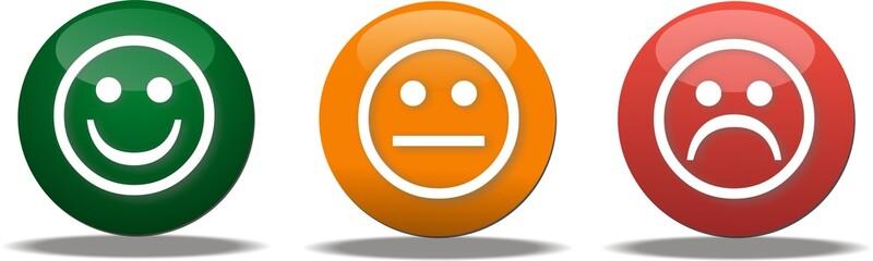 bouton smiley vote