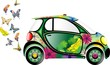 Auto Ecologica-Ecological Car-Vector