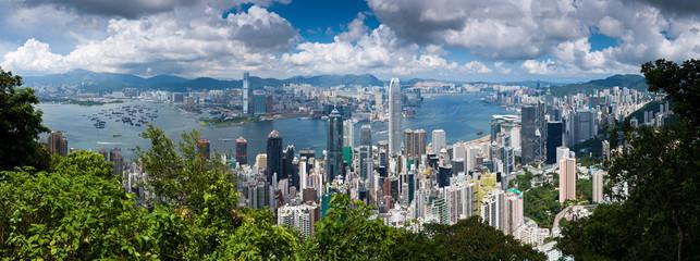 Hongkong Panorama Tag