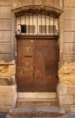Old door in Aix en Provence