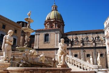 Place de la mairie - Palerme