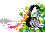 Fototapety Headphones