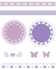 butterfly line and frame set