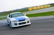 Leinwandbild Motiv racing car drift