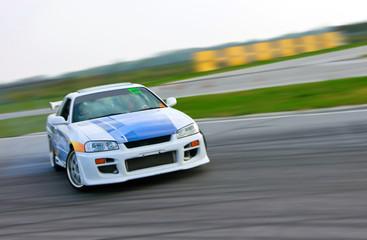 racing car drift
