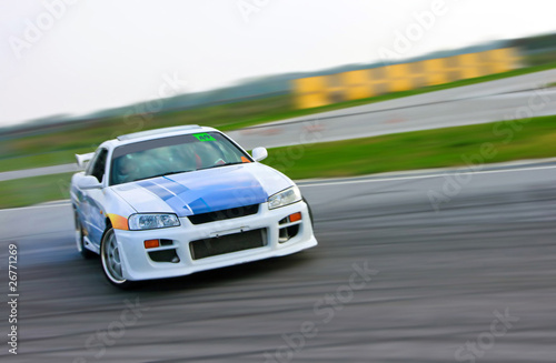 racing car drift - 26771269