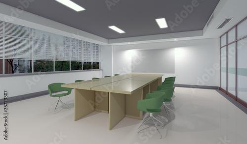 3d interno ufficio sala riunioni