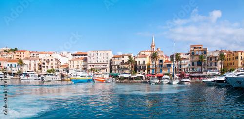 Fotobehang Poort port de Calvi - Corsica