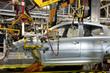 Leinwanddruck Bild - Automotive industry manufacture