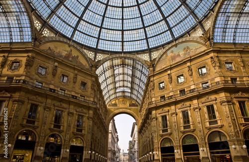 Quadro Galleria Vittorio Emanuele II - Galleria Milano, vendita ...