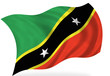 Saint kitts Nevis  flag