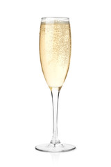 Champagne in a glass