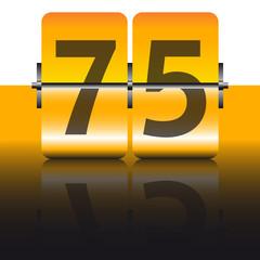 tarjeta 75