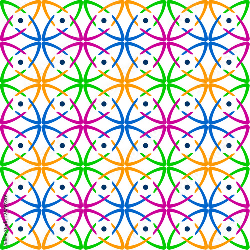 Seamless multicolor abstract pattern.