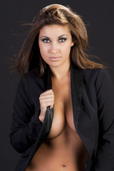 beautiful young hispanic woman