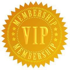 Vip membership sign