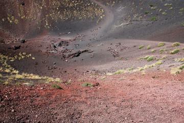Cratere estinto dell'Etna