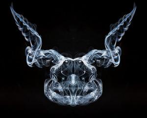 Horrible smoke face